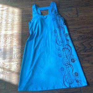 Medium Teal/Blue Athleta Summer Dress